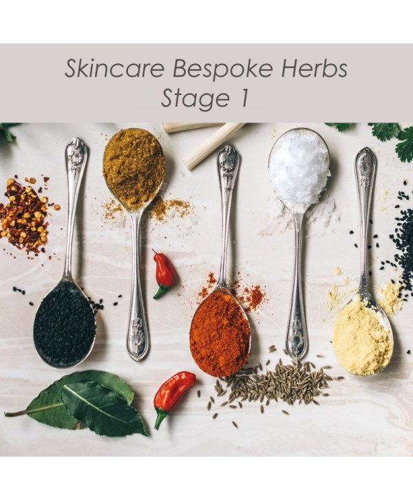 Skincare Bespoke Herbs - Stage 1