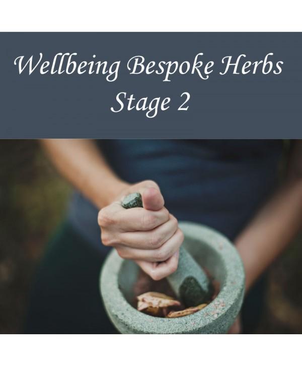 Wellbeing Bespoke Herbs - Stage 2